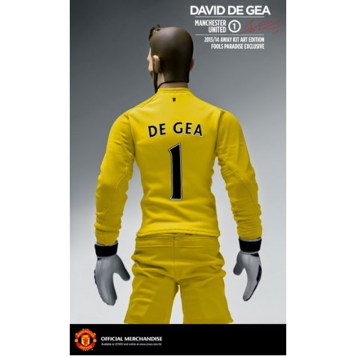 4f8d7bba290 Manchester United 1/6 Scale Collectible Action Figurines DAVID DE GEA Art  Edition Away Kit