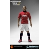 Manchester United 1/6 Scale Collectible Action Figurines RIO FERDINAND Art Edition Home Kit