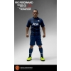 Manchester United 1/6 Scale Collectible Action Figurines RIO FERDINAND Art Edition Away Kit