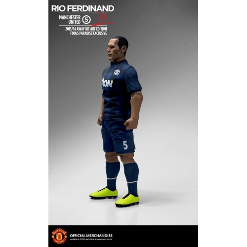 c7441001f4c Manchester United 1/6 Scale Collectible Action Figurines RIO FERDINAND Art  Edition Away Kit