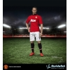 Manchester United 1/6 Scale Collectible Action Figurines FERDINAND Home ZC129