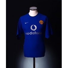 MANCHESTER UNITED Football Club Season 2002/2003 Official NIKE 3rd Kit - New with Tag - Size L UK