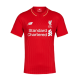 LIVERPOOL FC MENS SHORT SLEEVE OFFICIAL NEW BALANCE HOME JERSEY 2015/16 - New with Tag - Size S