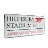 ARSENAL Football Club Official Street Sign