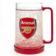 ARSENAL Football Club Official Plastic Freezer Tankard