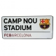 BARCELONA Football Club Official Street Sign f40ssiar