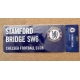 CHELSEA Football Club Official Colour Street Sign (Stamford Bridge SW6)