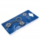 CHELSEA Football Club Official Keyring & Badge Set a30krsch