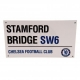 CHELSEA Football Club Official Birthday Card Street Sign w10carchss