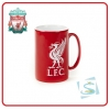 LIVERPOOL Football Club Official Embossed 2 Tone Crest Mug A577