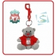 LIVERPOOL Football Club Official Grey Bag Buddy