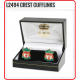 LIVERPOOL Football Club Official L2494 Crest Cufflinks