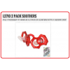 LIVERPOOL Football Club Official L2710 Pack Soothers