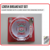 LIVERPOOL Football Club Official L3054 Toddler Breakfast Set