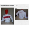 LIVERPOOL Football Club Official L3884 Heritage Track Top White M