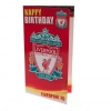 LIVERPOOL Football Club Official Birthday Card LP047