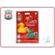 LIVERPOOL Football Club Official 3pk Bath Time Duck Set