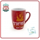 LIVERPOOL Football Club Official Red Bistro Mug A386