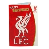 LIVERPOOL Football Club Official Musical Birthday Card SC120
