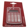 LIVERPOOL Football Club Official Pocket Calculator WH STEPCALCLTV