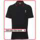 LIVERPOOL Football Club Official T019 Core Polo Shirts (BLACK) M Size