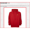 LIVERPOOL Football Club Official T024 Rain Jacket (M-Red)