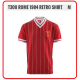 LIVERPOOL Football Club Official T300 Rome 1984 Retro Shirt (M Size)