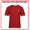 LIVERPOOL Football Club Official T500 Home 1970's Crew-Neck (M- size)