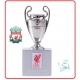 LIVERPOOL Football Club Official UEFA Champions League Trophy 45mm A2355