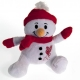 LIVERPOOL Football Club Official Soft Toy Snowman r15snwlv