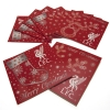 LIVERPOOL Football Club Official 10 Pack Christmas Cards