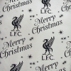 LIVERPOOL Football Club Official Christmas Foil Gift Wrap r25cwrlv