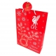 LIVERPOOL Football Club Official Christmas Gift Bag Medium RS r30cgilv