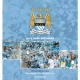 MANCHESTER CITY Football Club Official Desktop Calendar 2015 d47decmc