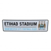 MANCHESTER CITY Football Club Official Window Sign f20winmc