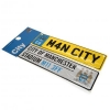 MANCHESTER CITY Football Club Official Window & Fridge Sign Set f30wifmc