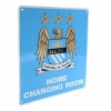 MANCHESTER CITY Football Club Official Home Changing Room Sign f50hommc