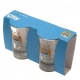 MANCHESTER CITY Football Club Official 2pk Shot Glass Set u40shomc