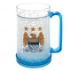 MANCHESTER CITY Football Club Official Plastic Freezer Tankard u52fremc