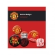 MANCHESTER UNITED Football Club Official Button Badge Set a75butmu