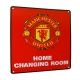 MANCHESTER UNITED Football Club Official Home Changing Room Sign f50hommu