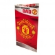 MANCHESTER UNITED Football Club Official Birthday Card DAD MU056