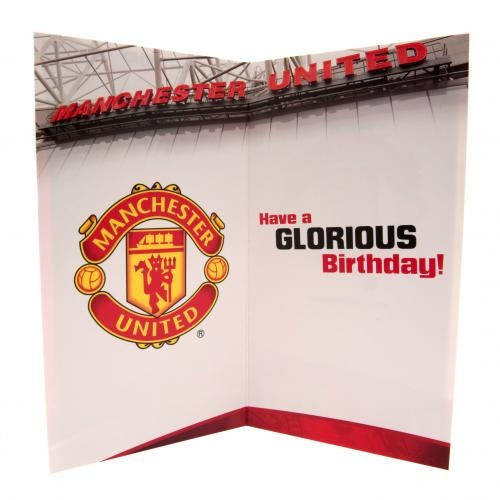 UNITED Football Club Official Birthday Card DAD MU056 – Man Utd Birthday Card