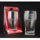 MANCHESTER UNITED Football Club Official Crest Pint Glass WH DWEPCHPINTETCMNU