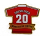 MANCHESTER UNITED Football Club Official Solskjaer Crest Badge SolksjaerPin