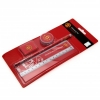 MANCHESTER UNITED Football Club Official 4 Piece Stationery Set STA399P
