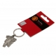 MANCHESTER UNITED Football Club Official Keyring Antique Red Devil a25krcmuan