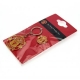 MANCHESTER UNITED Football Club Official Keyring & Badge Set a30krsmu