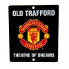 MANCHESTER UNITED Football Club Official Window Sign Square f25wismu