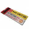 MANCHESTER UNITED Football Club Official Window & Fridge Sign Set f30wifmu